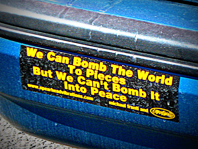 war-no-more-15-bumper-sticker
