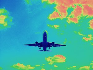 Air travel causing climate change